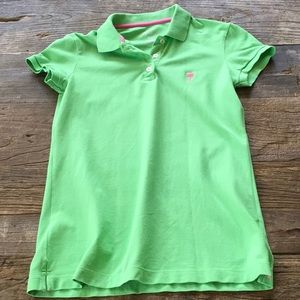 Lilly Pulitzer Island Polo Green Small